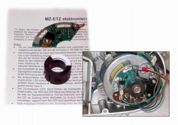 Bild von Elektronische Zündung 12V MZ ETZ125 ETZ150 ETZ250 ETZ251
