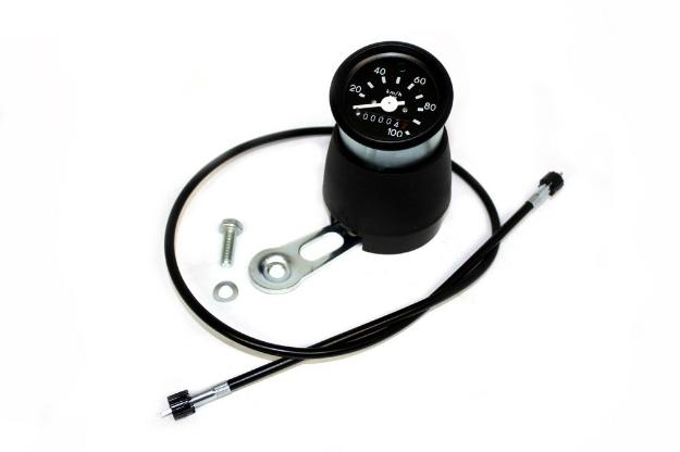 Bild von Tachometer S51 Enduro  mit Anbauteilen