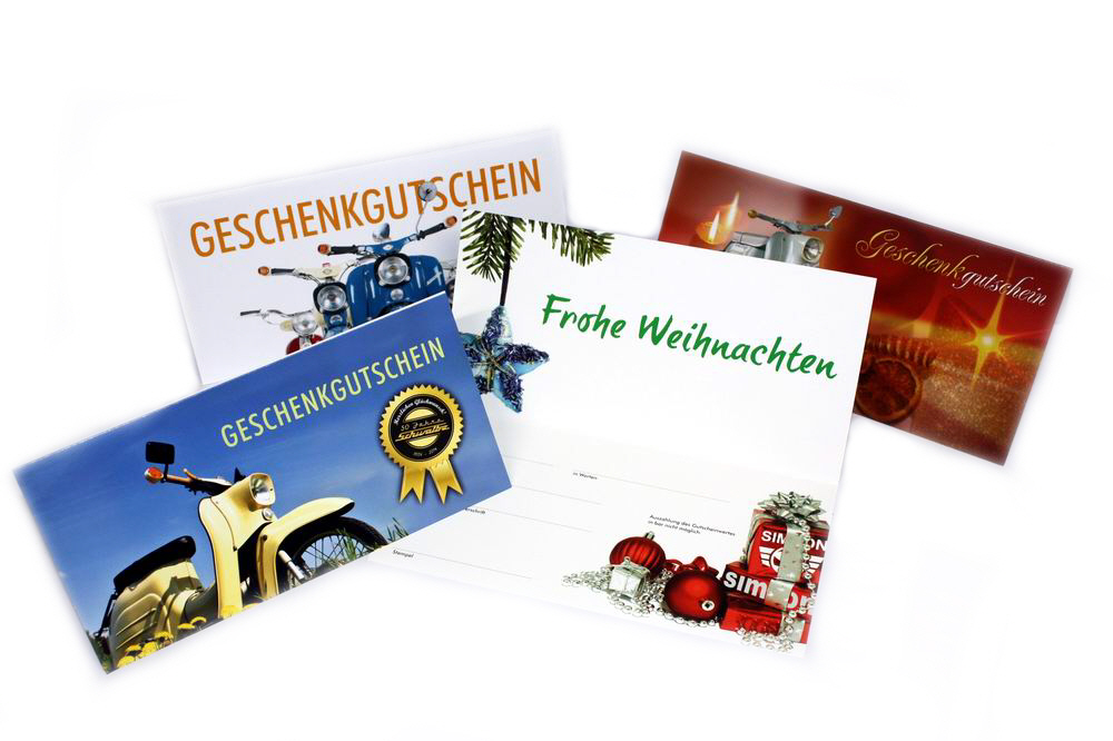 Bild für Kategorie Geschenk-Gutscheine