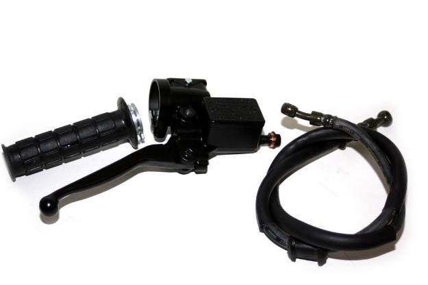 Bild von Hauptbremszylinder mit Gasgriff S50 S51 S53 SR50 SR80  -mit Zubehör