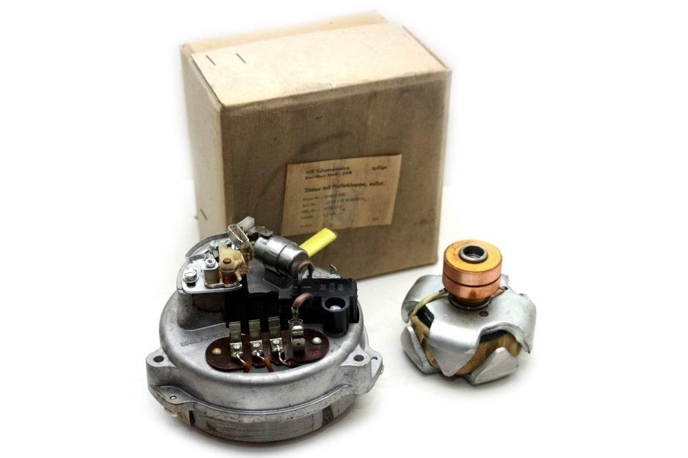 Bild für Kategorie Lichtmaschinen + Regler + Kleinteile MZ