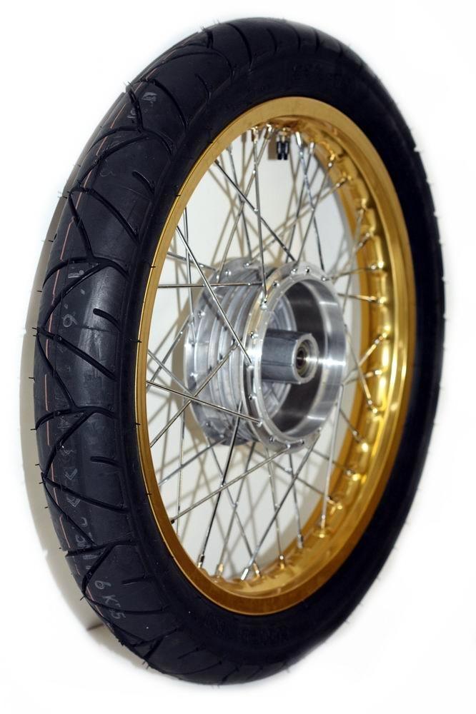 Bild für Kategorie Speichenrad mit Reifen Simson