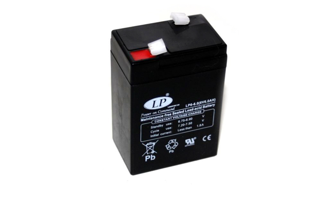 Bild von Batterie KR51 Schwalbe AGM 6V 6,0Ah  -wartungsfrei