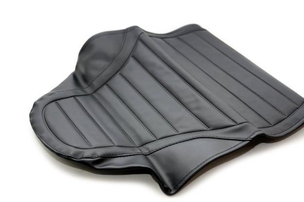 Bild von Sitzbankbezug S51 Enduro  -schwarz strukturiert