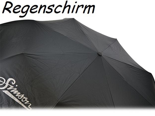 Bild von Regenschirm schwarz Simson