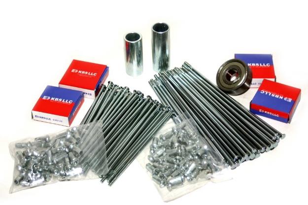 Bild von Reparatur-Kit Speichenrad ETZ125 ETZ150 ETZ251  -vorn und hinten